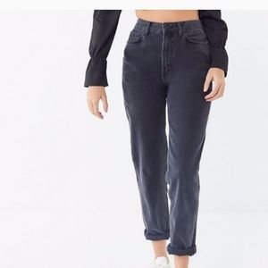 BDG Faded Black Mom Jeans